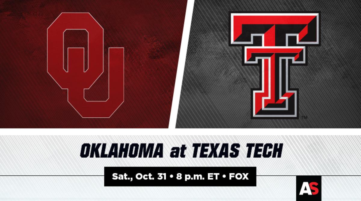 Oklahoma (OU) vs. Texas Tech (TTU) Football Prediction and Preview