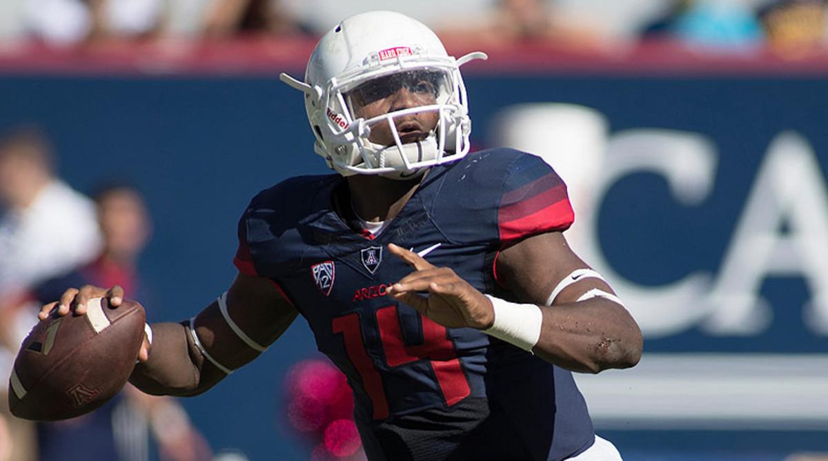 NCAA Football Picks: Khalil Tate, Arizona Wildcats Football