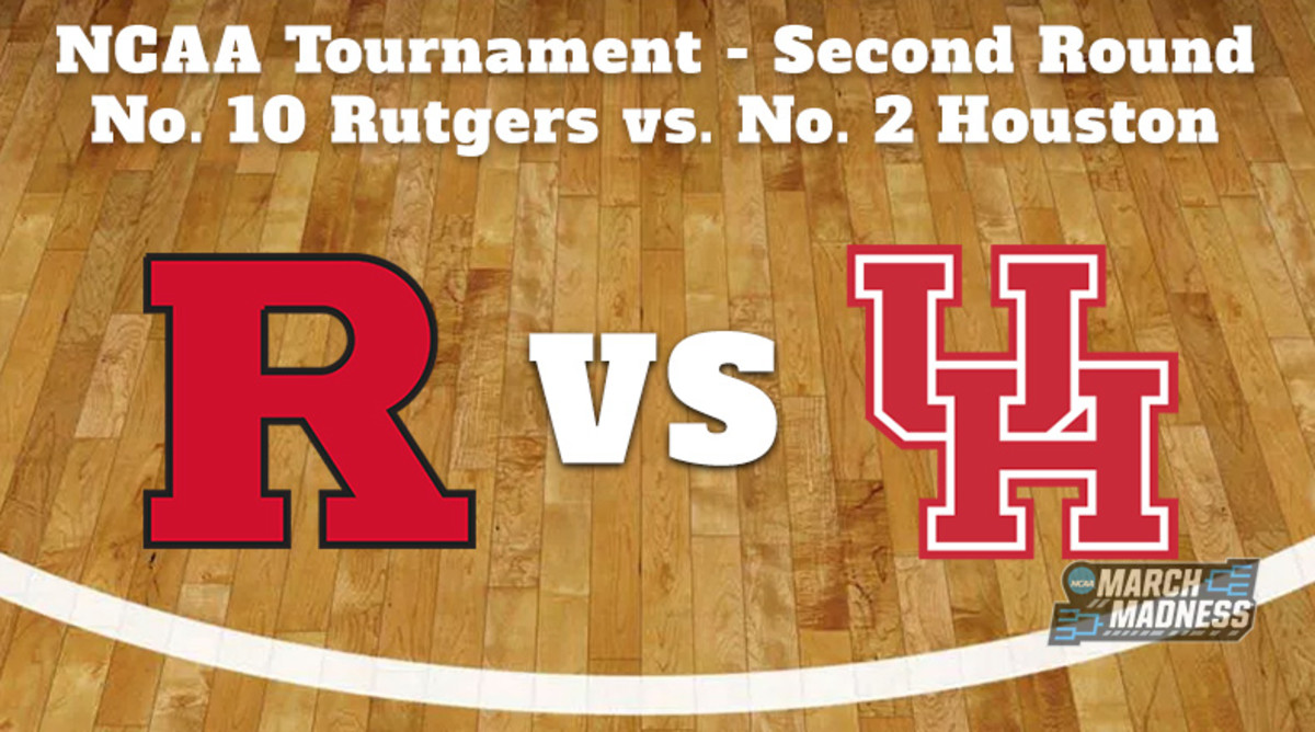 Rutgers Scarlet Knights vs. Houston Cougars Prediction: NCAA Tournament Second Round Preview