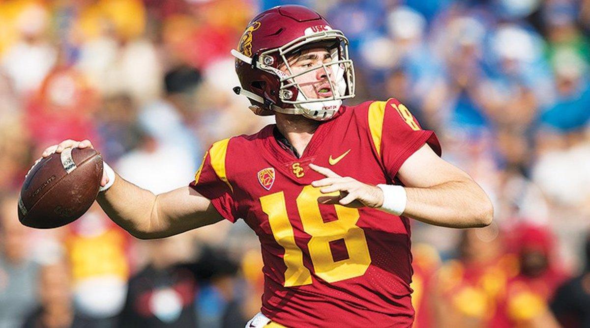 JT Daniels, USC Trojans Football