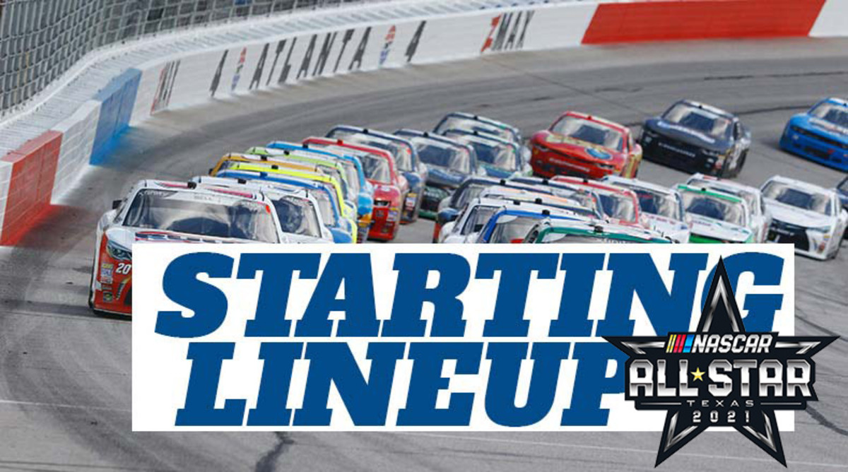 Starting Lineup for Sunday's NASCAR All-Star Race at Texas Motor Speedway
