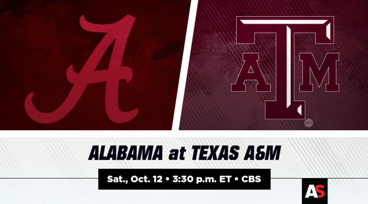 Alabama vs. Texas A&M Football Prediction and Preview