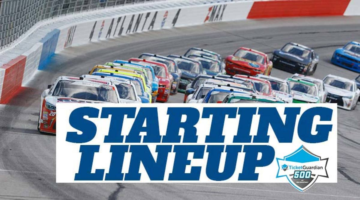 NASCAR Starting Lineup for TicketGuardian 500 at ISM Raceway (Phoenix)