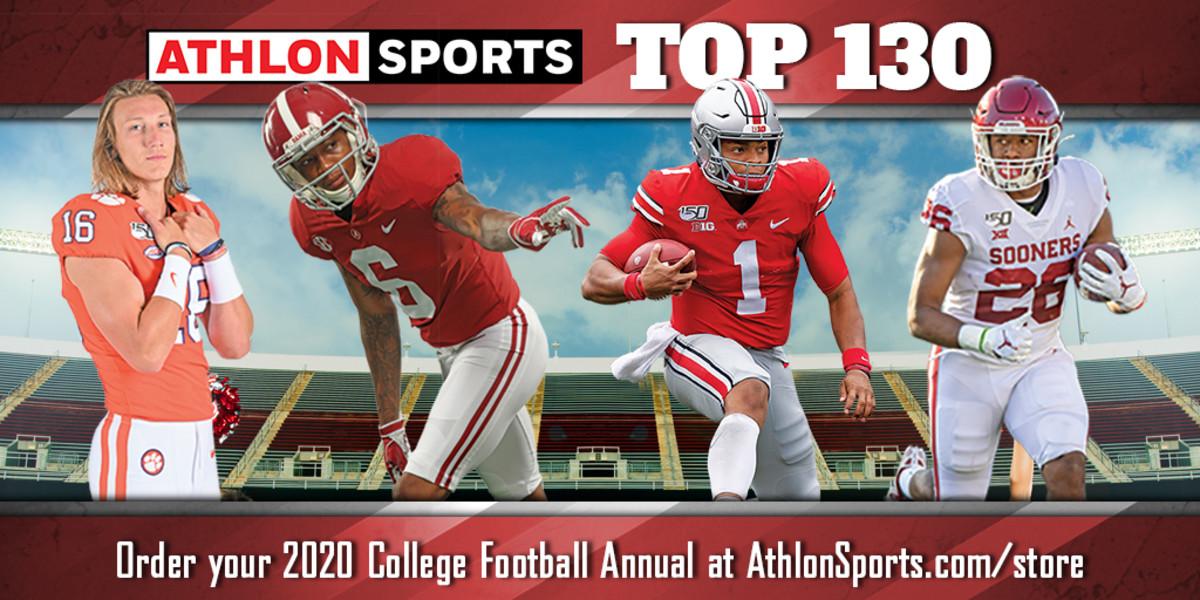College Football Top 130 Team Rankings 2020