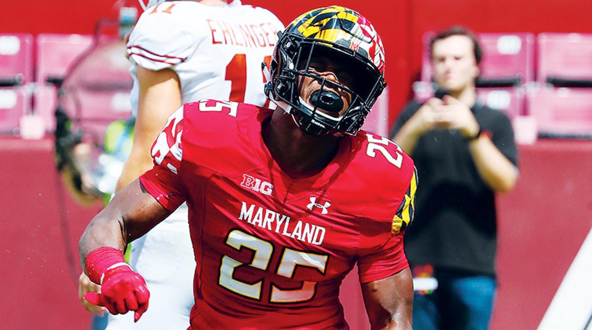 Antoine Brooks Jr., Maryland Terrapins Football