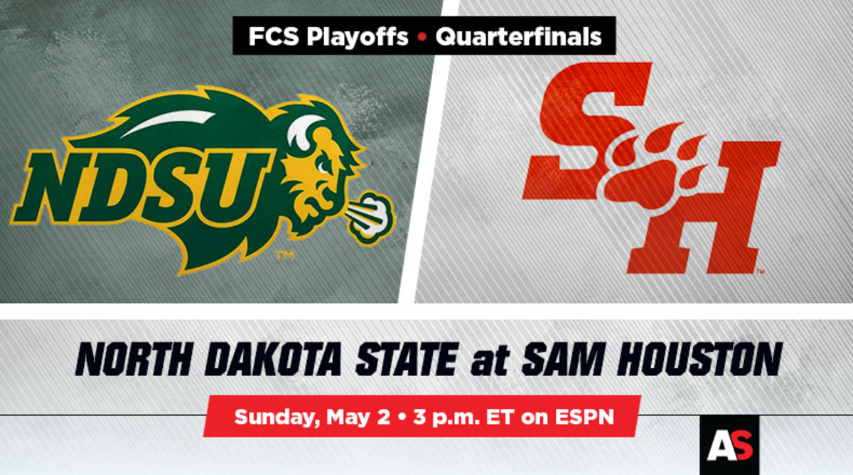 FCS Quarterfinal Prediction and Preview: North Dakota State vs. Sam Houston