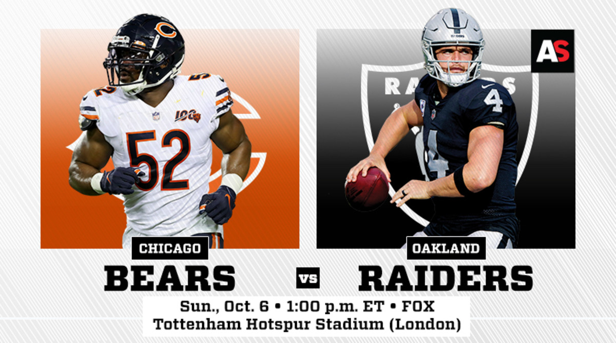 NFL London Games: Chicago Bears vs. Oakland Raiders Prediction and Preview