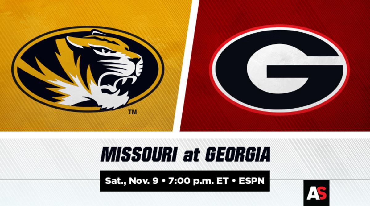 Missouri vs. Georgia Football Prediction and Preview