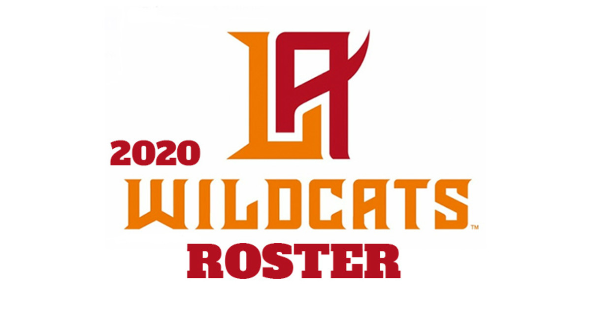 Los Angeles Wildcats 2020 Roster (XFL Football)