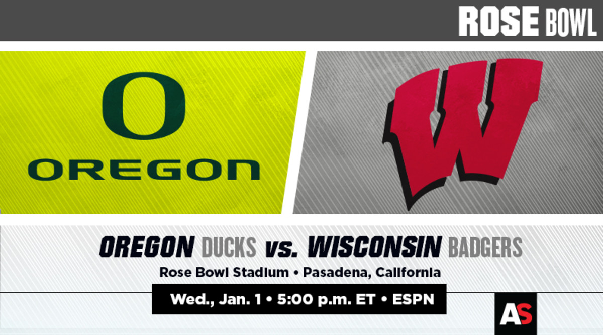 Rose Bowl Game Prediction and Preview: Oregon vs. Wisconsin