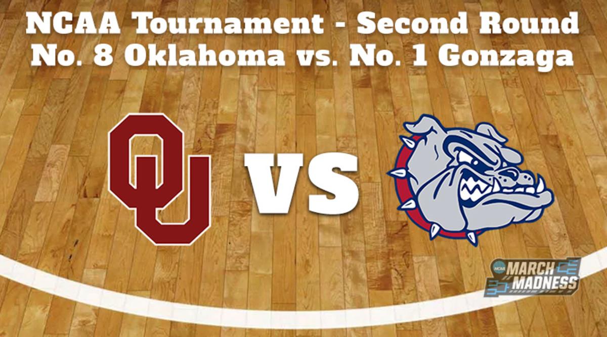 Oklahoma Sooners vs. Gonzaga Bulldogs: Prediction: NCAA Tournament Second Round Preview