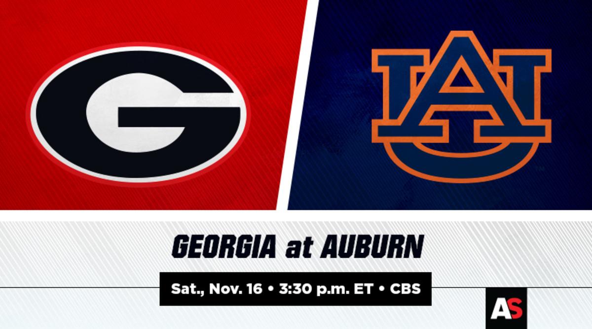 Georgia vs. Auburn Prediction and Preview