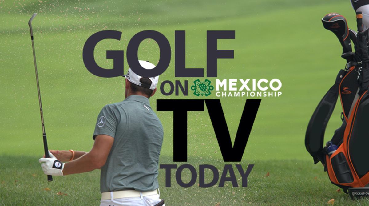 PGA Tour Golf on TV Today (Saturday, Feb. 23) 2019: WGC-Mexico Championship