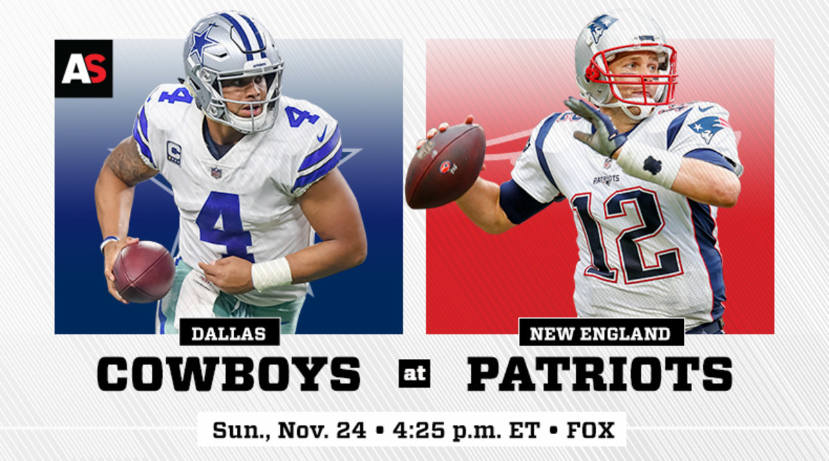 Dallas Cowboys vs. New England Patriots Prediction and Preview