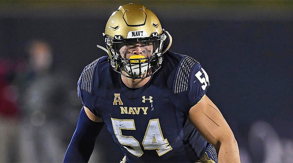Diego Fagot, Navy Midshipmen Football