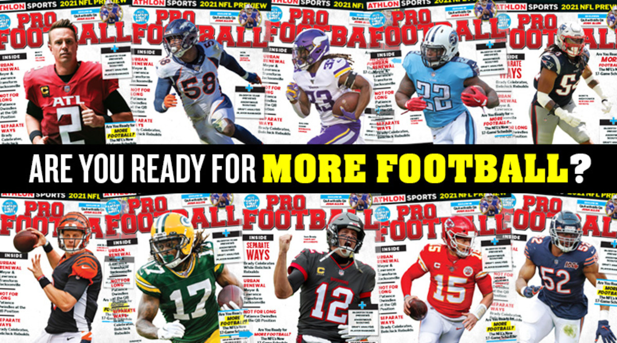 Athlon Sports' 2021 Pro Football Magazine