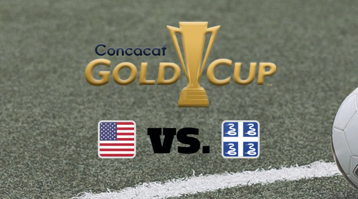 2021 Concacaf Gold Cup: United States vs. Martinique