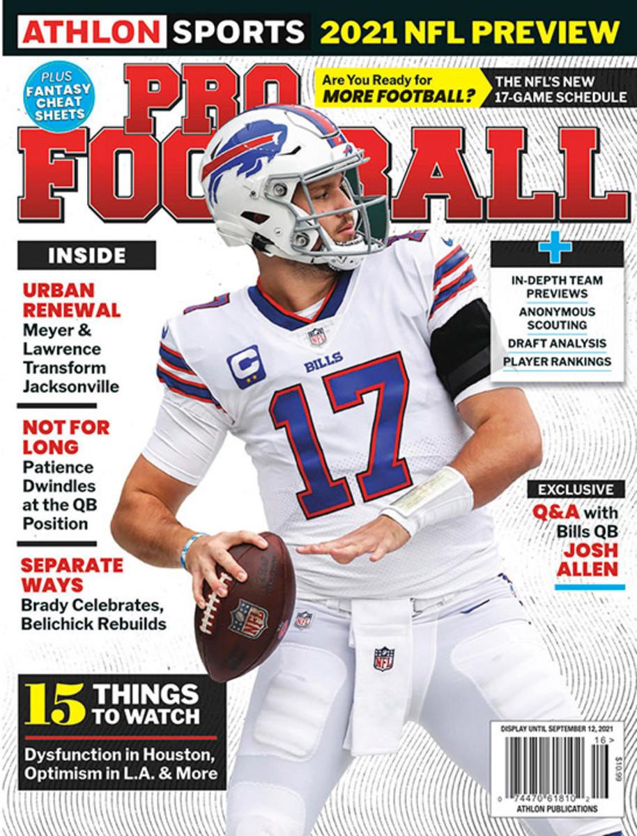 Athlon Sports' 2021 Pro Football Magazine - Buffalo Bills