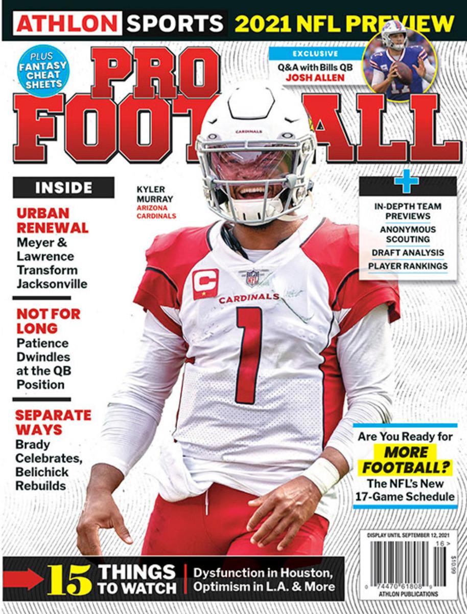 Athlon Sports' 2021 Pro Football Magazine - Arizona Cardinals