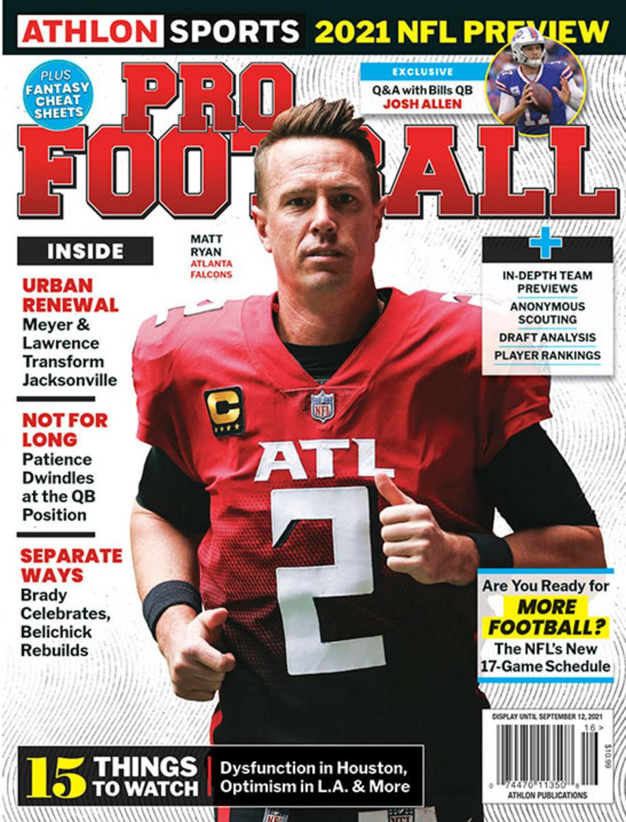 Athlon Sports' 2021 Pro Football Magazine - Atlanta Falcons