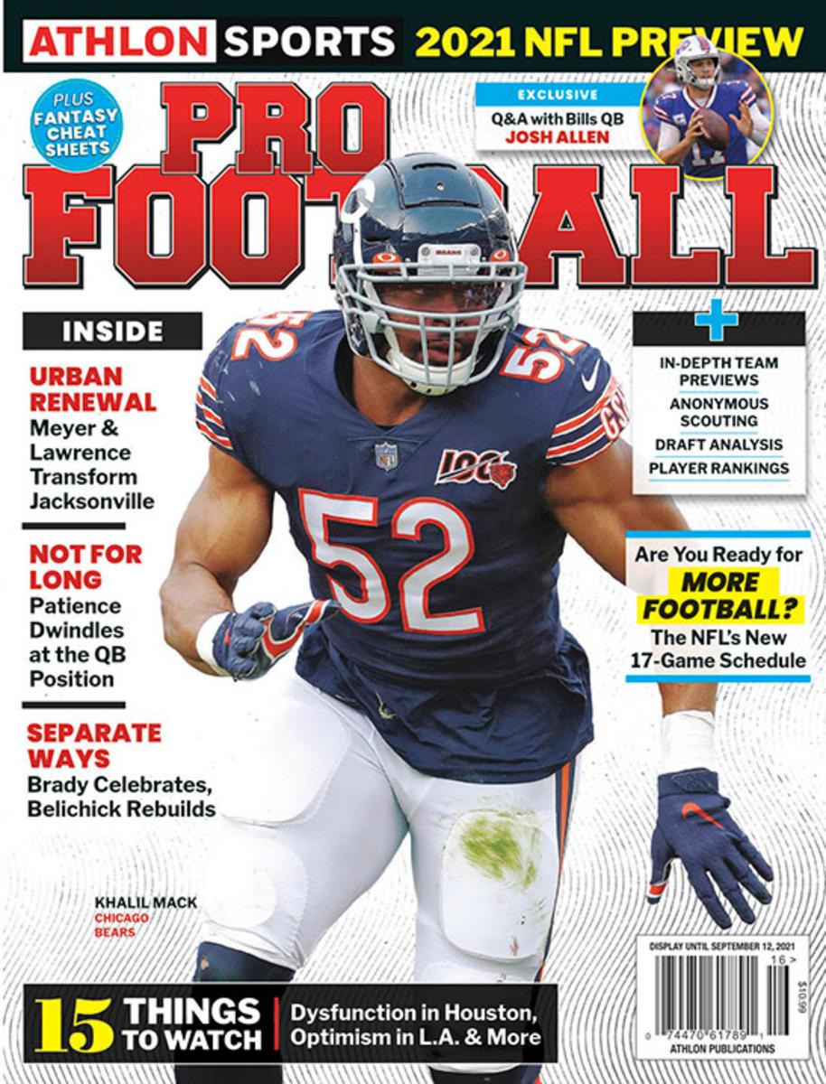 Athlon Sports' 2021 Pro Football Magazine - Chicago Bears