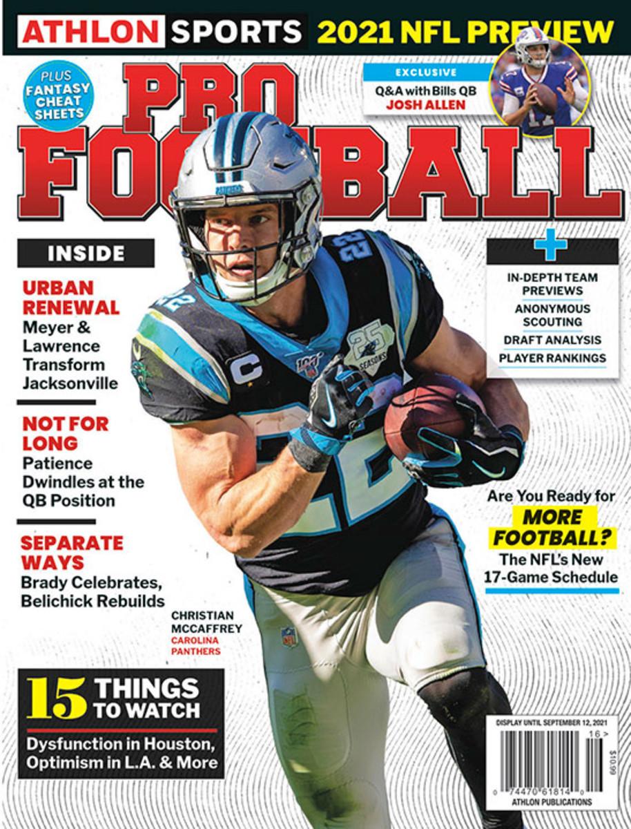 Athlon Sports' 2021 Pro Football Magazine - Carolina Panthers