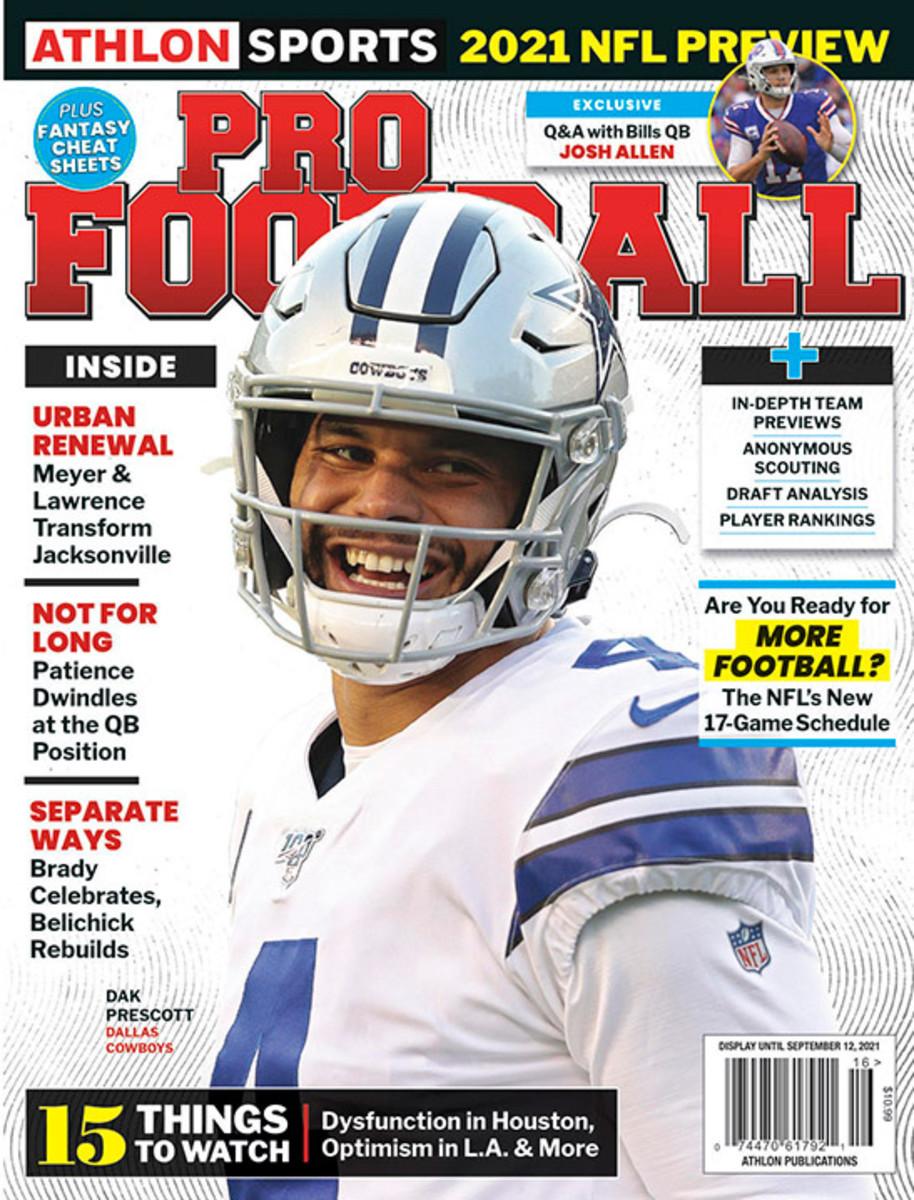 Athlon Sports' 2021 Pro Football Magazine - Dallas Cowboys