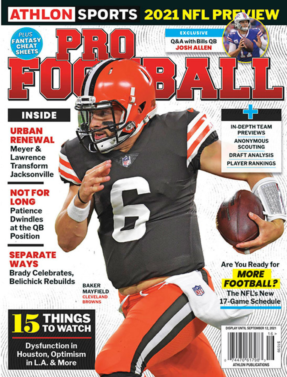 Athlon Sports' 2021 Pro Football Magazine - Cleveland Browns
