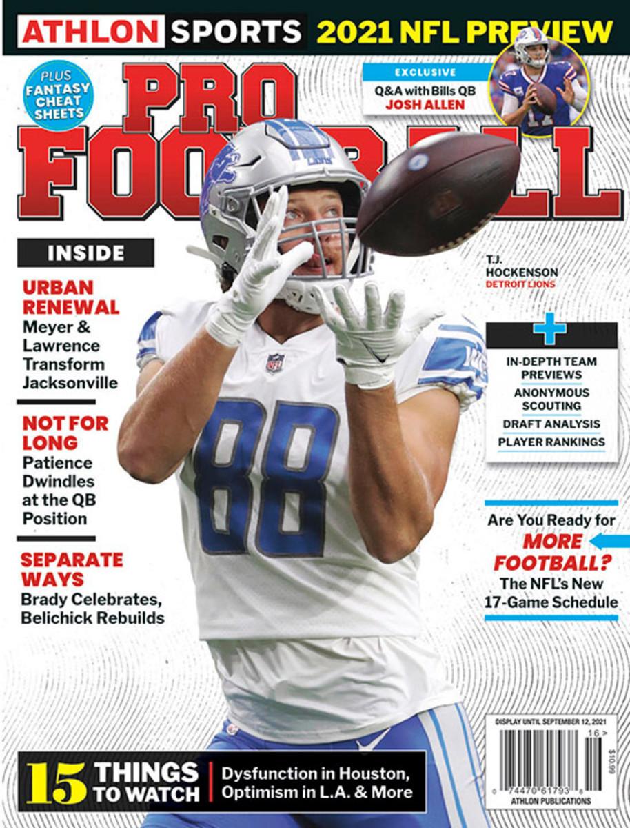 Athlon Sports' 2021 Pro Football Magazine - Detroit Lions