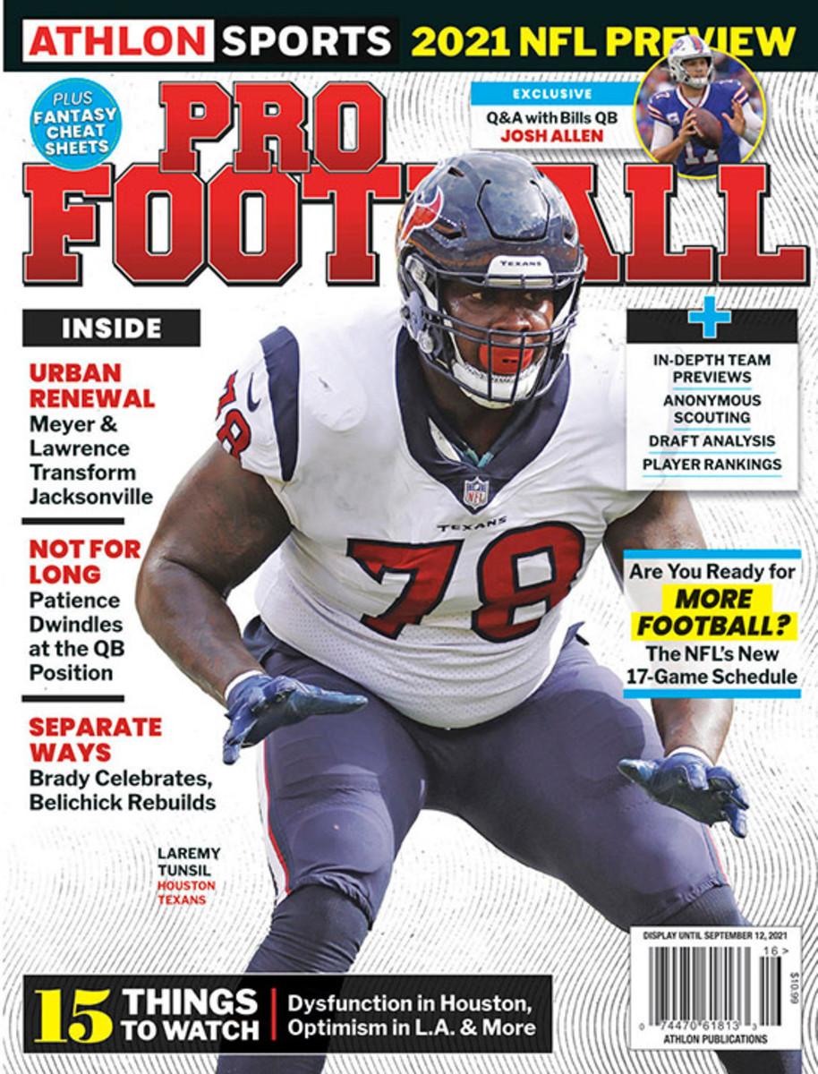 Athlon Sports' 2021 Pro Football Magazine - Houston Texans
