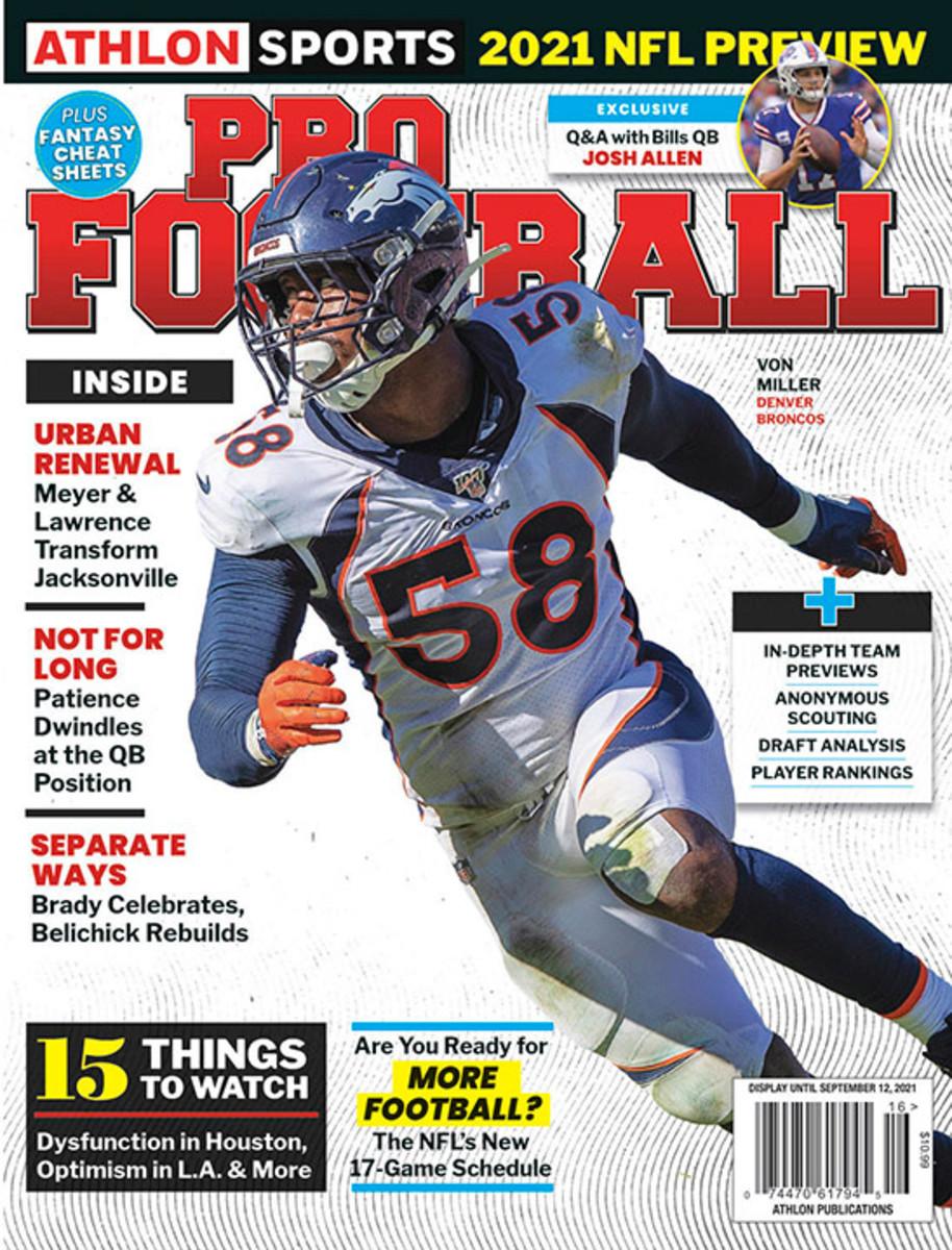 Athlon Sports' 2021 Pro Football Magazine - Denver Broncos