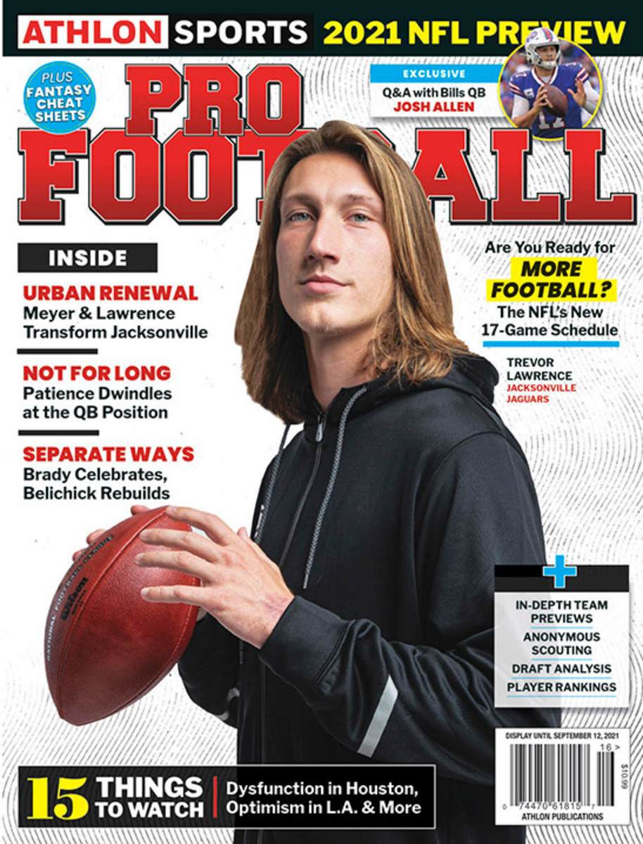Athlon Sports' 2021 Pro Football Magazine - Jacksonville Jaguars