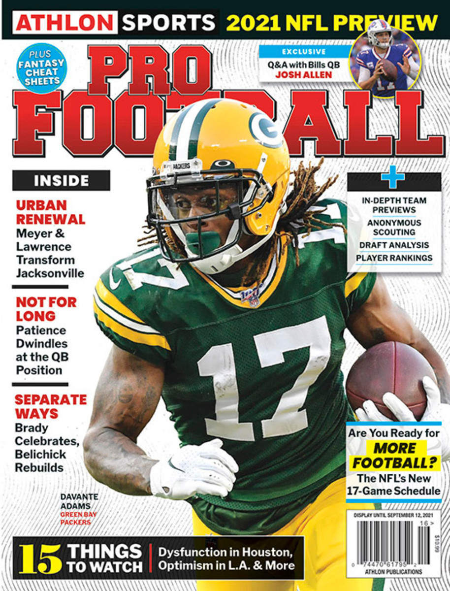 Athlon Sports' 2021 Pro Football Magazine - Green Bay Packers