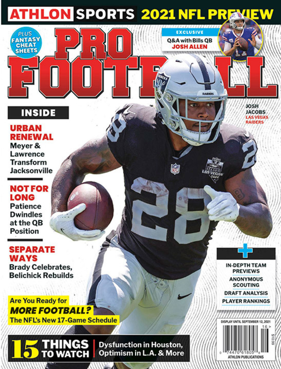 Athlon Sports' 2021 Pro Football Magazine - Las Vegas Raiders