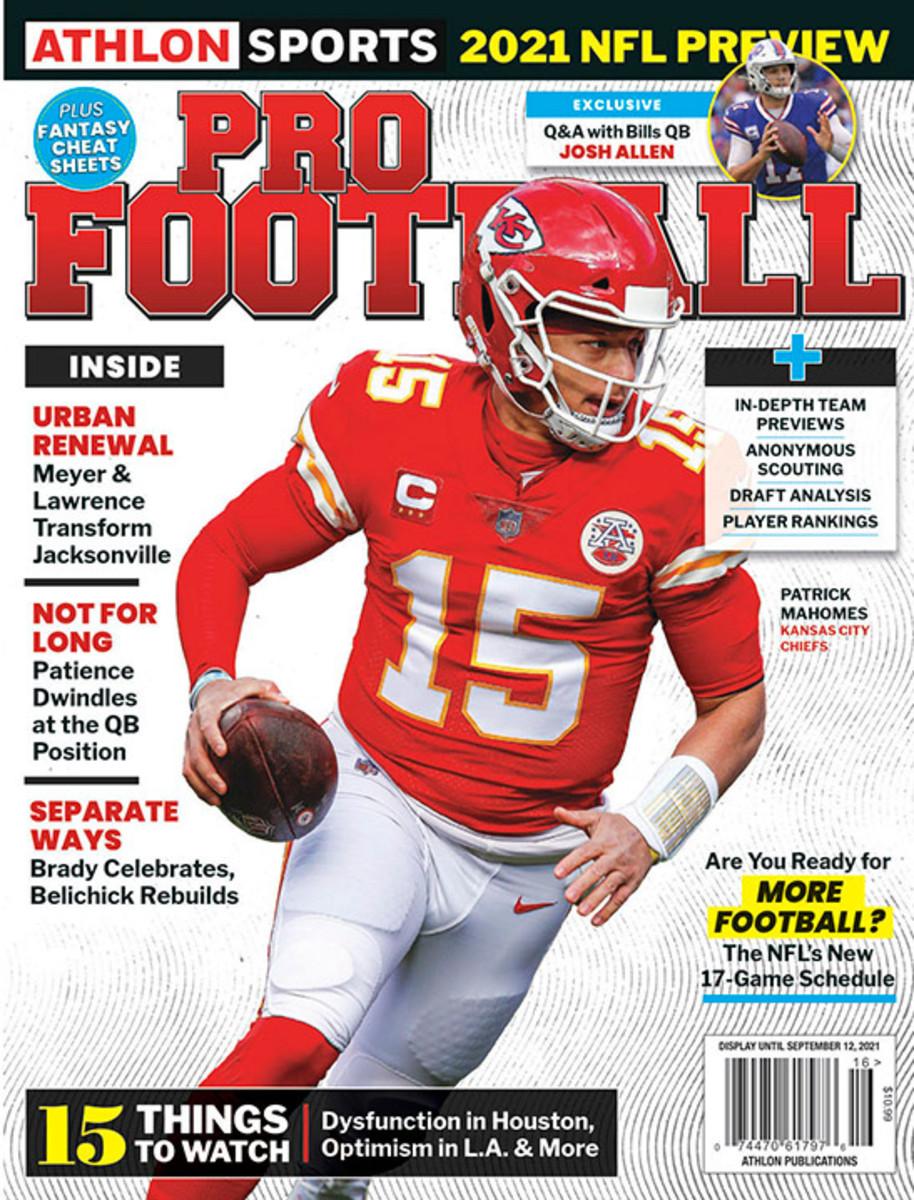 Athlon Sports' 2021 Pro Football Magazine - Kansas City Chiefs