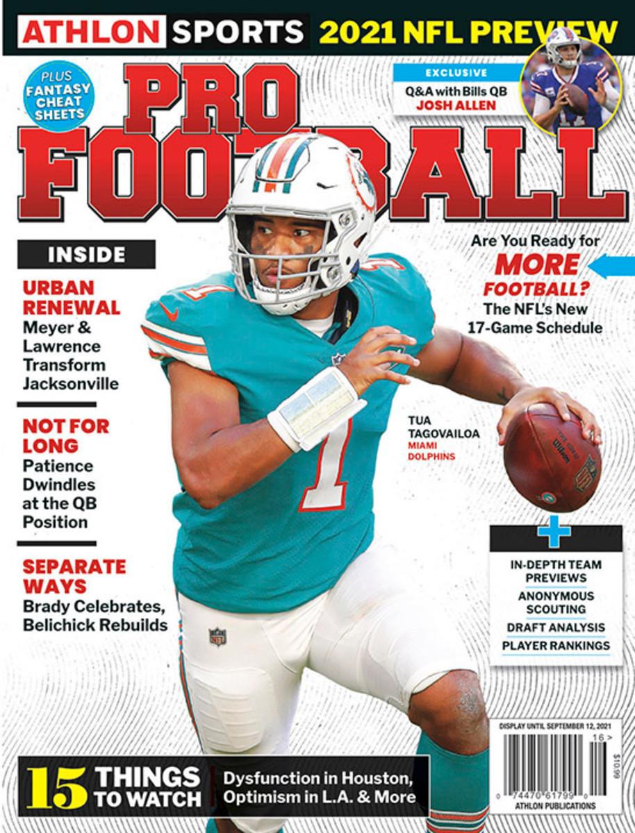 Athlon Sports' 2021 Pro Football Magazine - Miami Dolphins