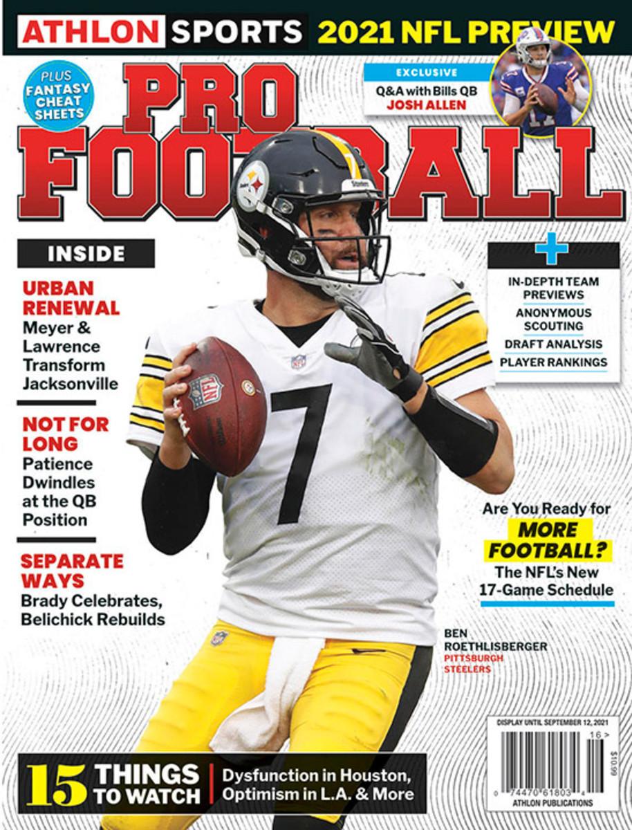 Athlon Sports' 2021 Pro Football Magazine - Pittsburgh Steelers