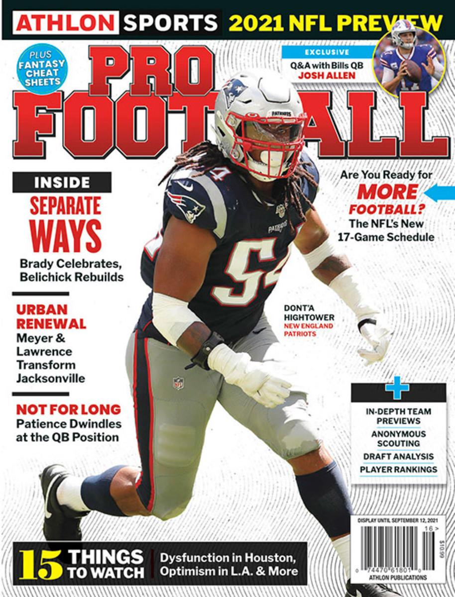 Athlon Sports' 2021 Pro Football Magazine - New England Patriots