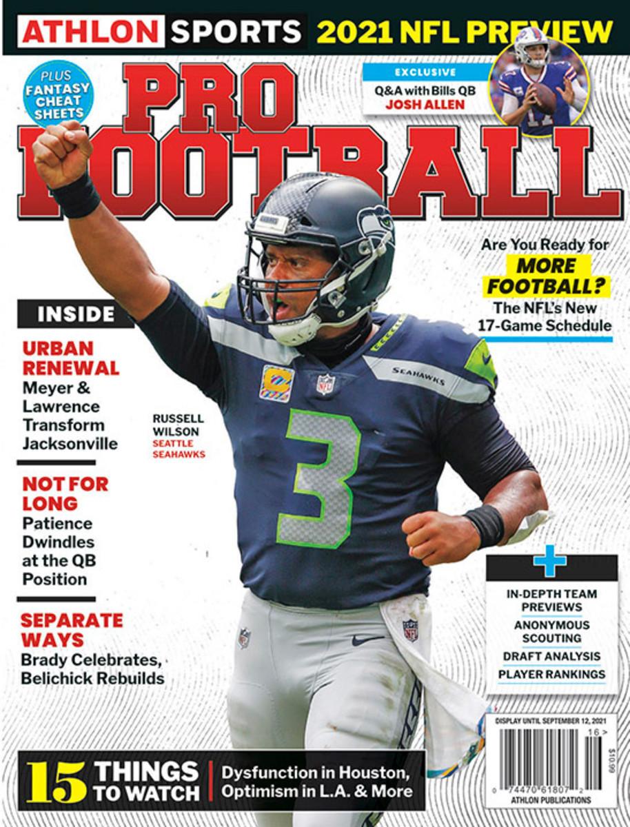 Athlon Sports' 2021 Pro Football Magazine - Seattle Seahawks