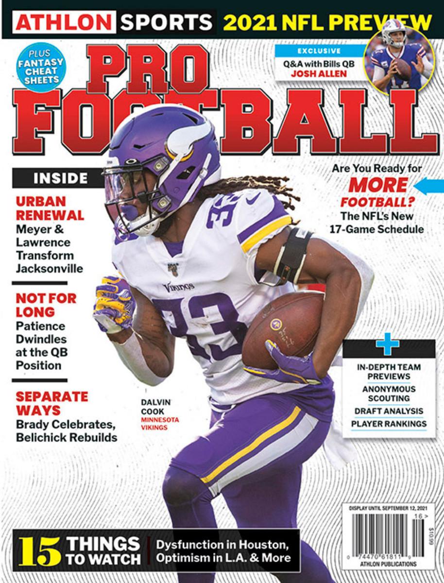 Athlon Sports' 2021 Pro Football Magazine - Minnesota Vikings
