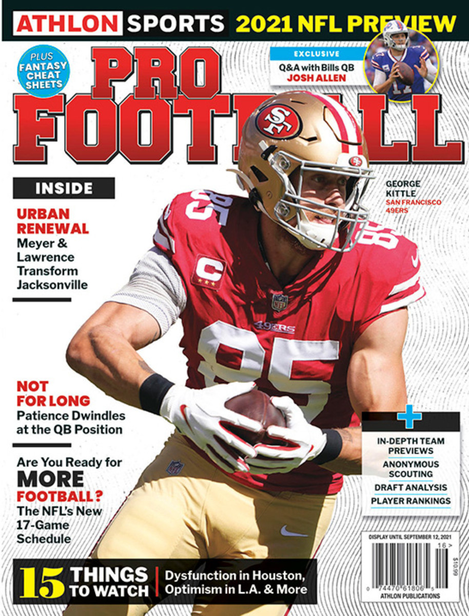 Athlon Sports' 2021 Pro Football Magazine - San Francisco 49ers