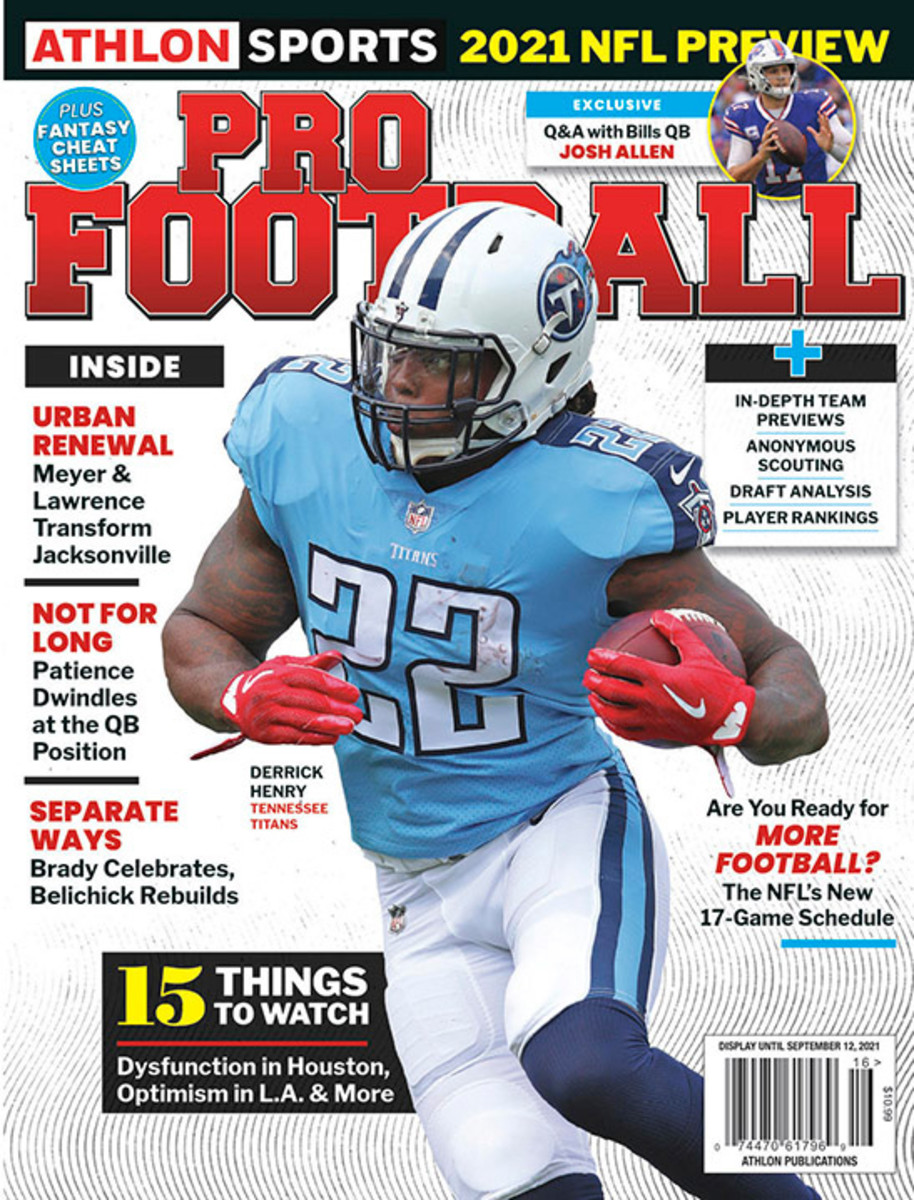 Athlon Sports' 2021 Pro Football Magazine - Tennessee Titans