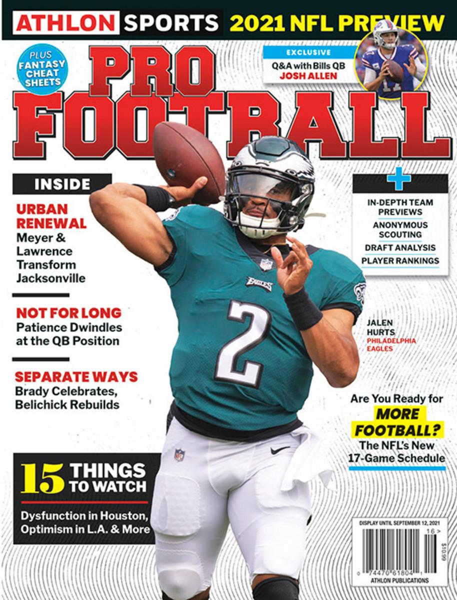 Athlon Sports' 2021 Pro Football Magazine - Philadelphia Eagles
