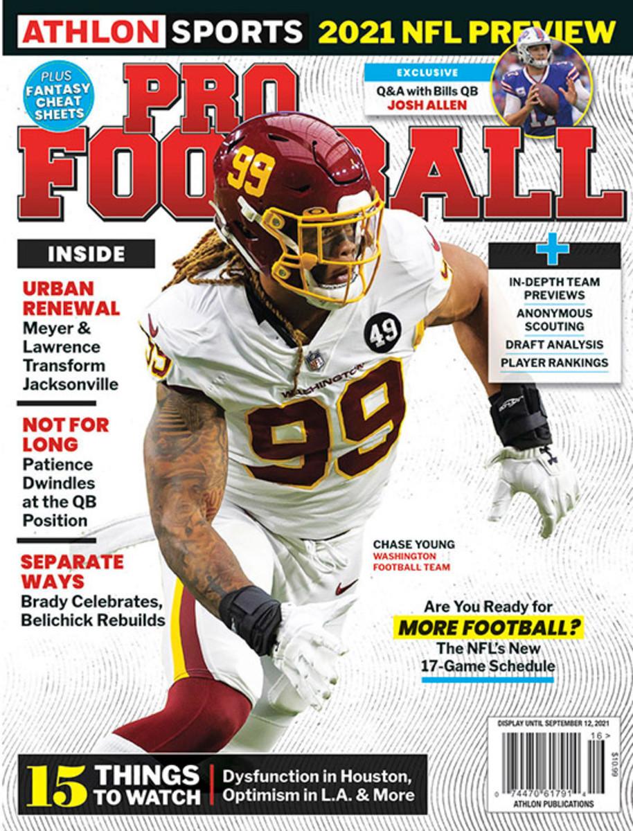 Athlon Sports' 2021 Pro Football Magazine - Washington Football Team