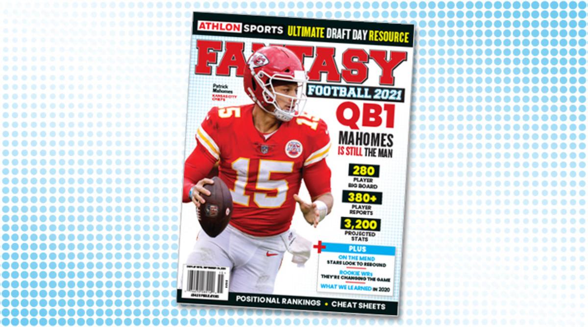 Athlon Sports' 2021 Fantasy Football Magazine