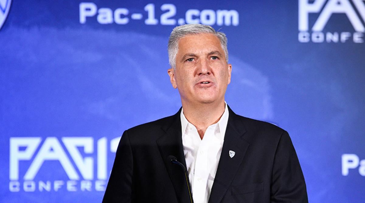 Pac-12 commissioner George Kliavkoff