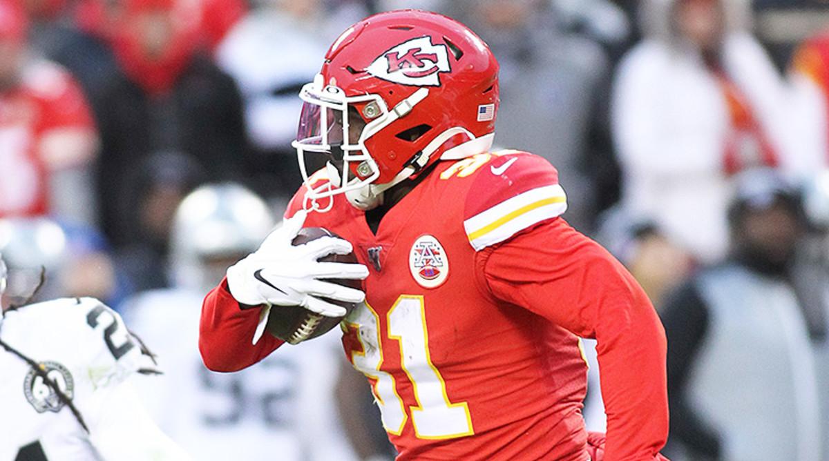 Darrel Williams, Kansas City Chiefs