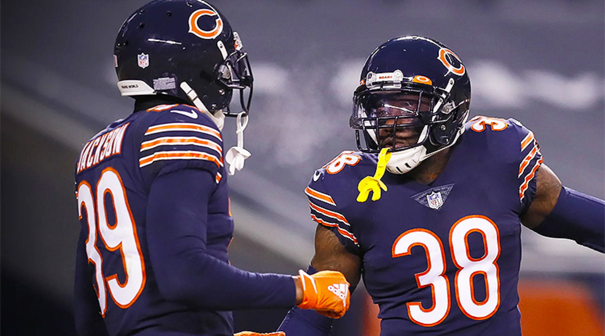 Eddie Jackson and Tashaun Gipson Sr., Chicago Bears