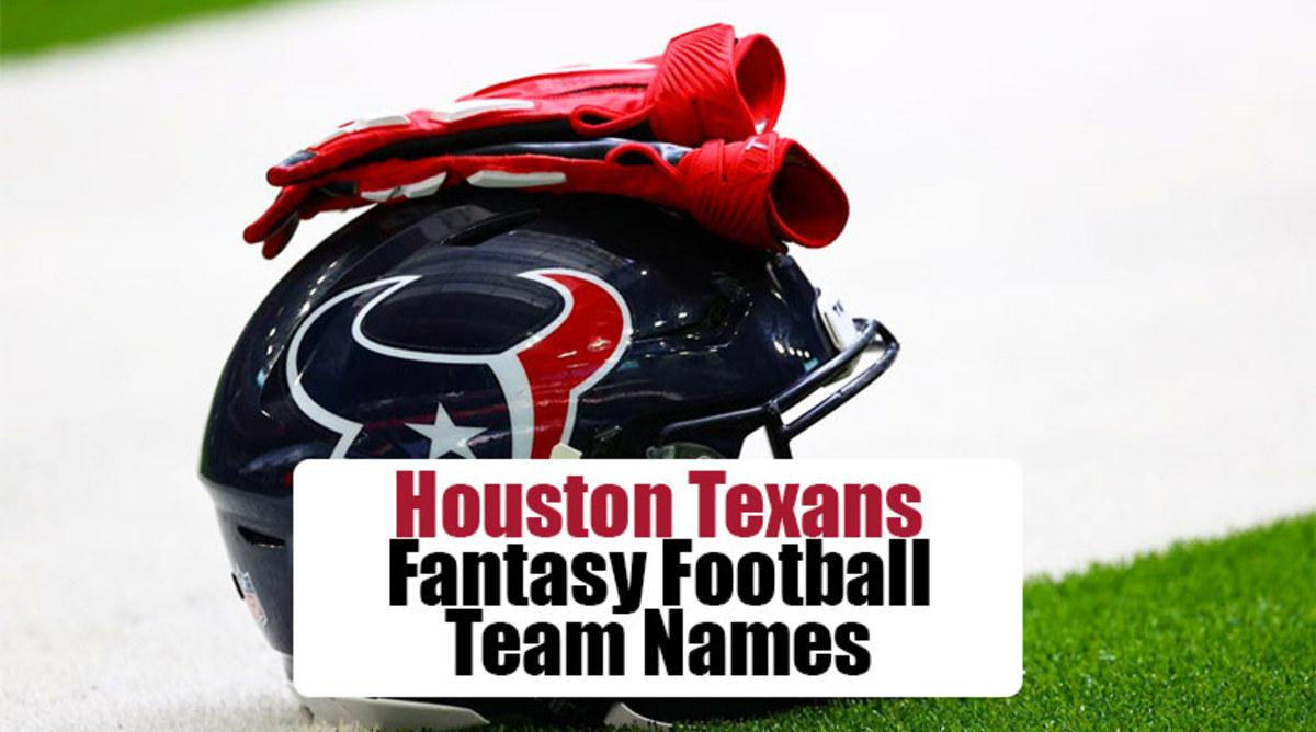 Houston Texans Fantasy Football Team Names