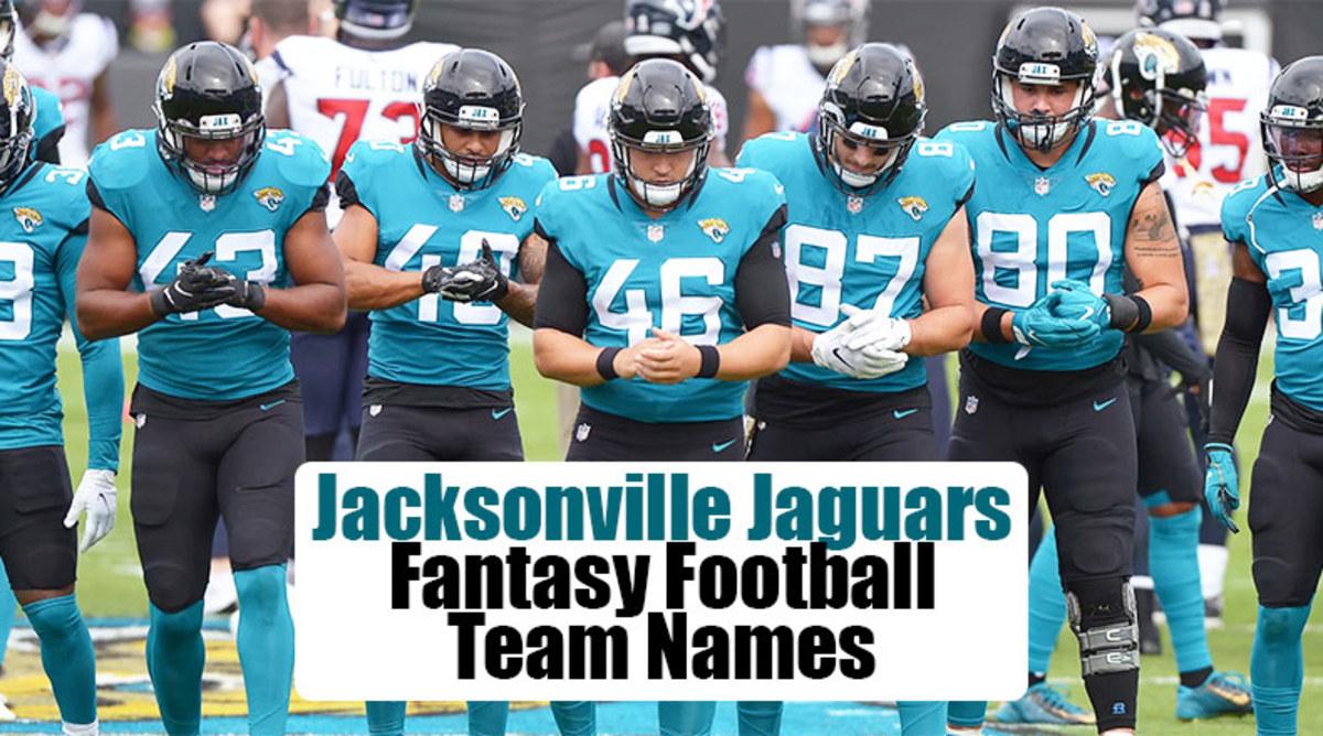 Jacksonville Jaguars Fantasy Football Team Names